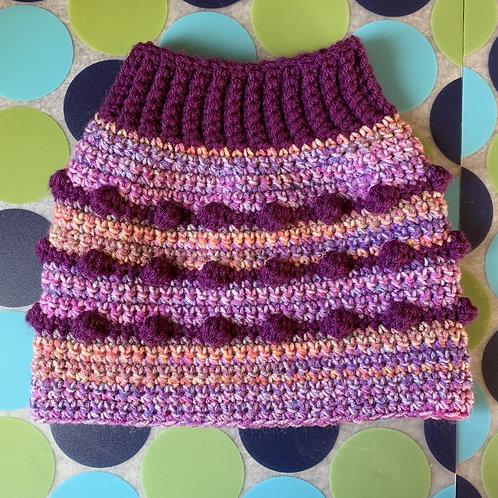 Size M - Dog Sweater Vest - Lavender Fields