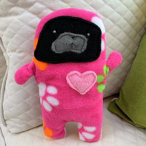 Paula - The Pug-Jama Bummlie ~ Stuffing Free Dog Toy