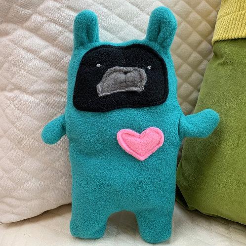 Lenny ~ The Pug Bunny Bummlie ~ Stuffing Free Dog Toy