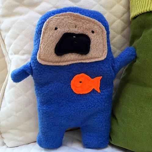 Arnold - The Go Fish Pug-Jama Bummlie ~ Stuffing Free Dog Toy