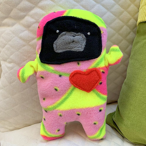 Seed - The Pug-Jama Bummlie ~ Stuffing Free Dog Toy