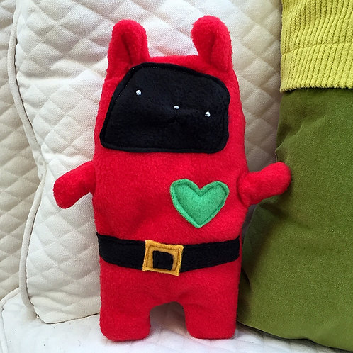 Iggy ~ The Holiday Elf Bunny Bummlie ~ Stuffing Free Dog Toy