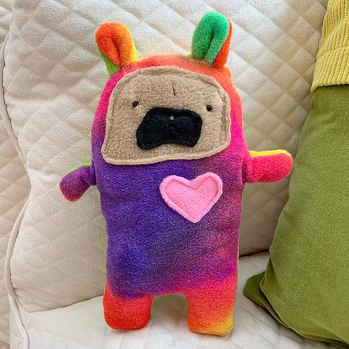 Honey ~ The Pug Bunny Bummlie ~ Stuffing Free Dog Toy