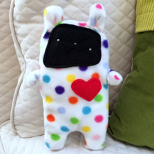 Dot ~ The Bunny Bummlie ~ Stuffing Free Dog Toy