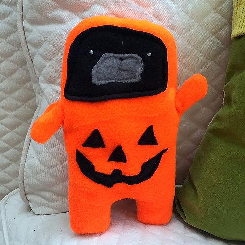 Jack - The Jack-O-Lantern Pug-Jama Bummlie ~ Stuffing Free Dog Toy