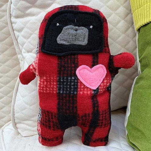 Pecan - The Pug-Jama Bummlie ~ Stuffing Free Dog Toy