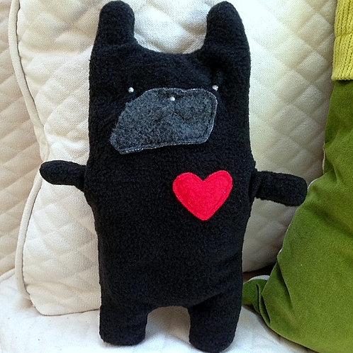 Henri ~ The Black French Bulldog Bummlie ~ Stuffing Free Dog Toy