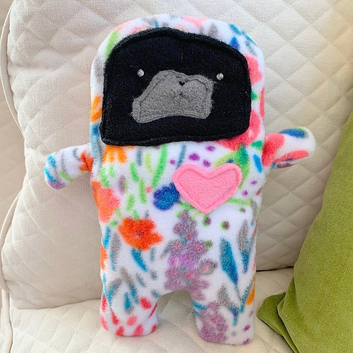 Daisy - The Pug-Jama Bummlie ~ Stuffing Free Dog Toy