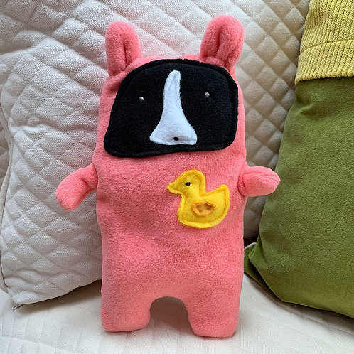 Darcy ~ The Boston Terrier Bunny Bummlie ~ Stuffing Free Dog Toy
