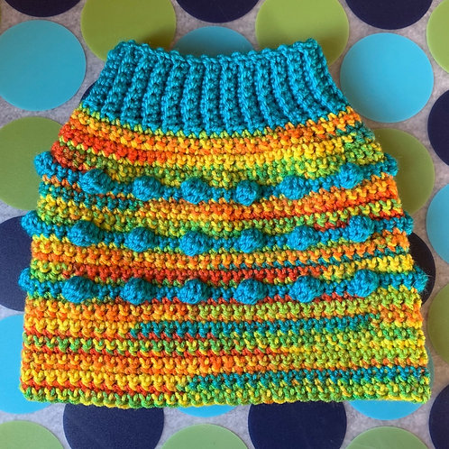 Size M - Dog Sweater Vest - Starburst