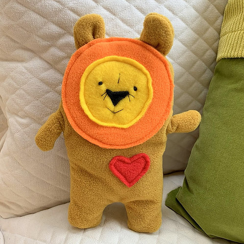 Rory ~ The Lion Bummlie ~ Stuffing Free Dog Toy