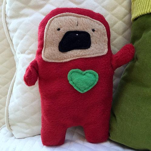 Holly - The Holiday Pug-Jama Bummlie ~ Stuffing Free Dog Toy