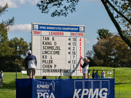 DAY ONE – Aronimink yields few low scores at the KPMG Women's PGA Championship