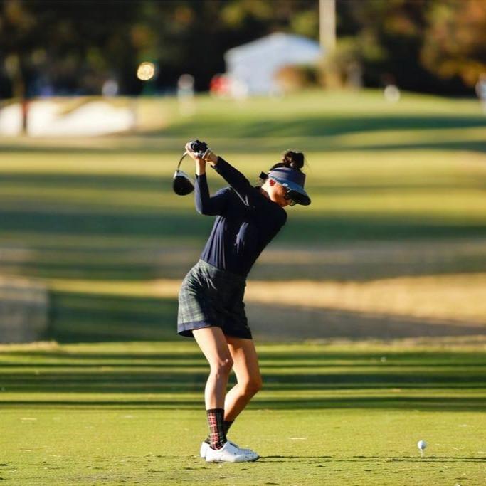 Tee shot, golf, Ina Kim-Schaad