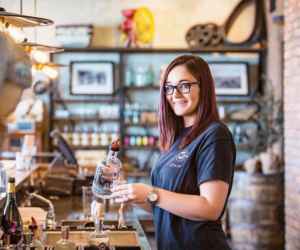 gin. spirits, Alberta, Culinaire magazine, boutique,