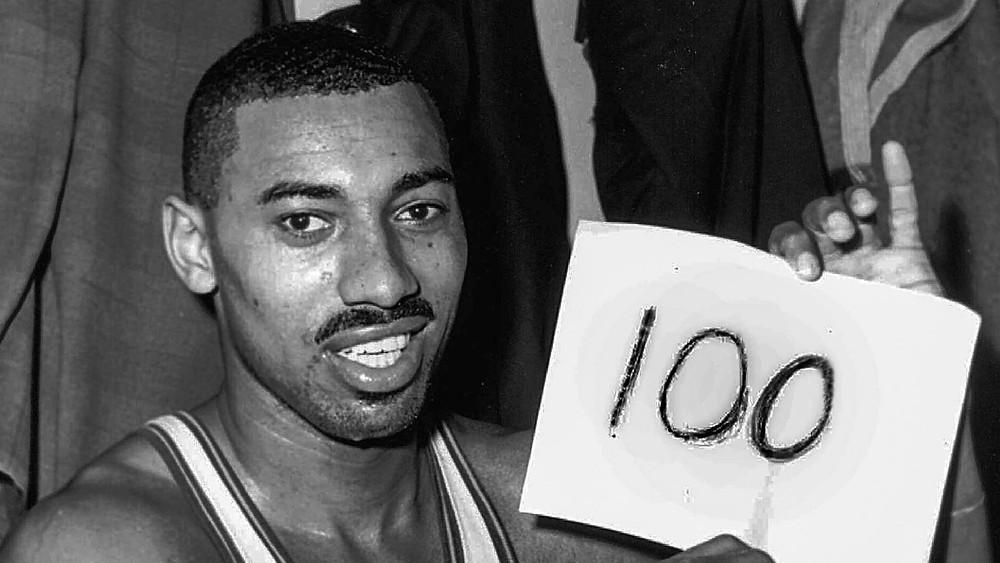 wilt the stilt, 100 point game, nba, scoring leader, mvp, basketball
