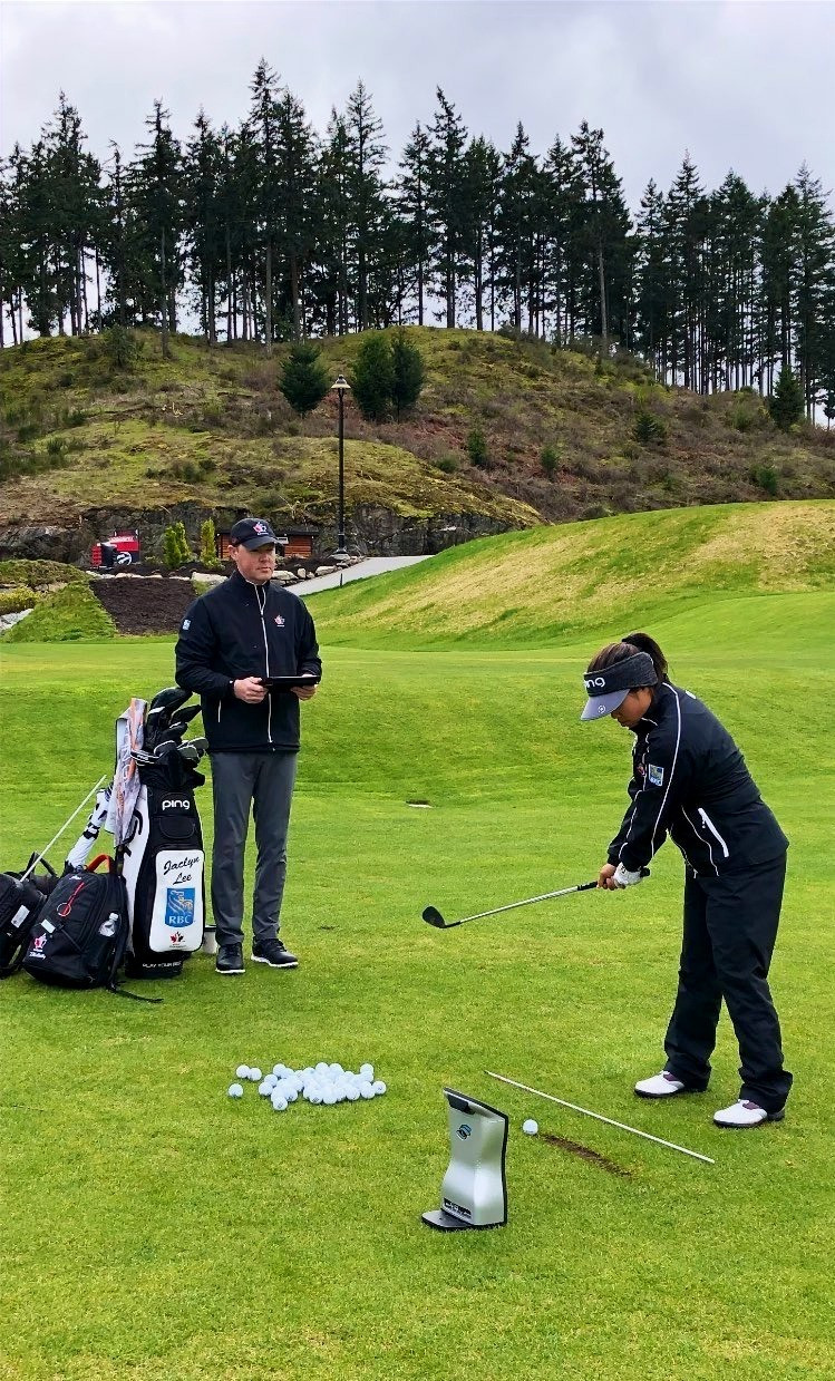 Golf Canada, Bear Mountain Golf, Tristan Mullally, practice, Victoria, BC