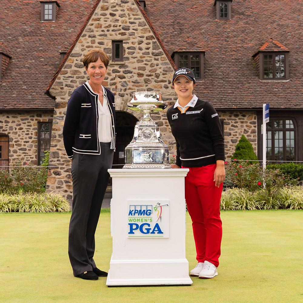 golf, champion, 2020 kpmg, pga. lpga,