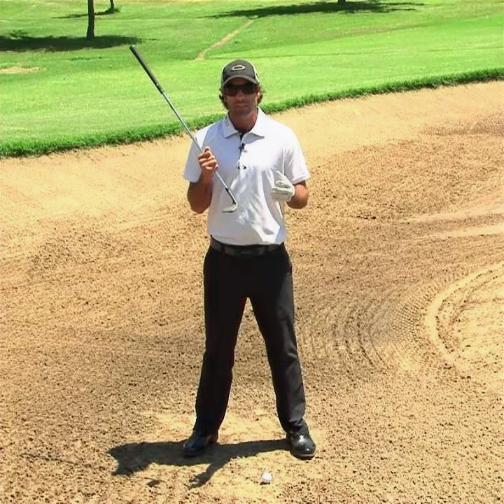 Sand wedge, club bounce, golf, golf lessons