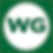 WORLD OF GOLF Logo (Inverted White & Gre