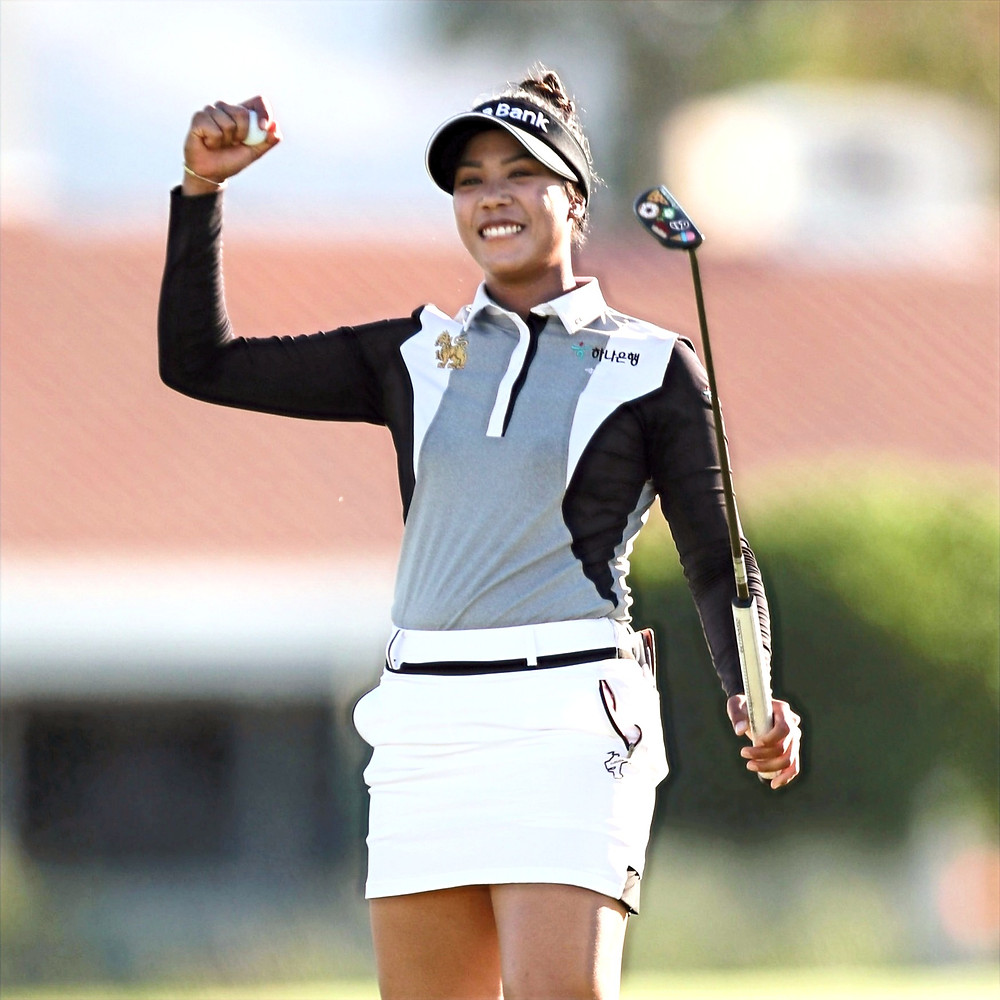 Hello World -- this was Patty Tavatanakit's introduction to the broader golf world