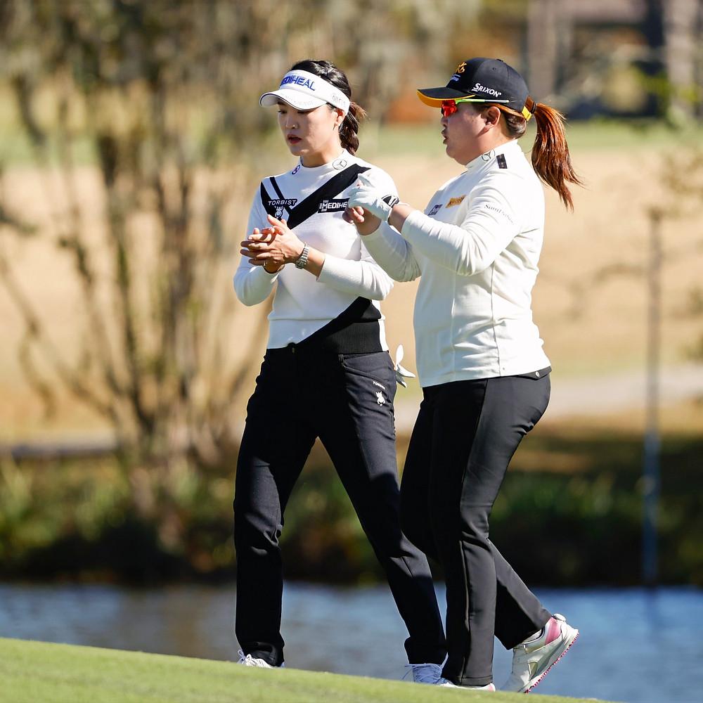 Inbee Park, So Yeon Ryu, USGA, US Women's Open, golf, Houston, Champions Golf Club, South Korea
