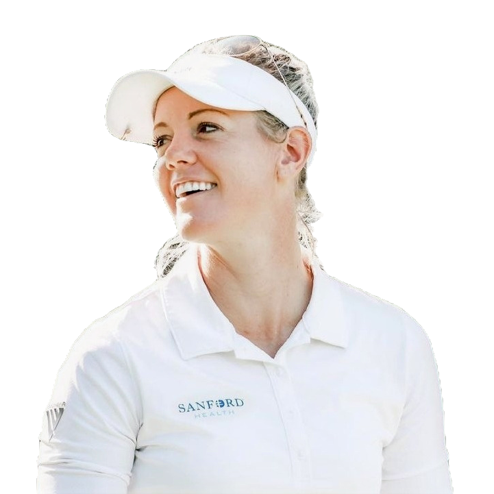 Winning a major championship is an accomplishment that Amy Olson could be ready for after finishing tied for second three times previously.