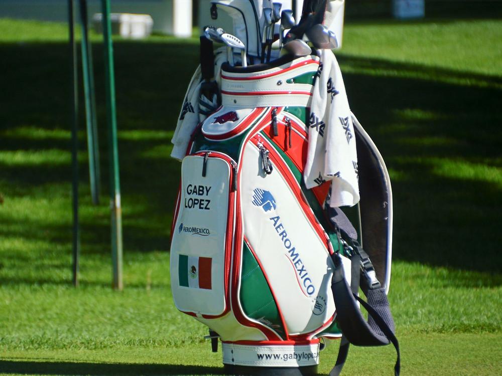 Aero Mexico, gaby lopez. titleist, callaway, tayloremade, golf