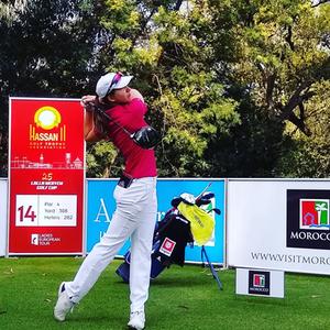 Ladies European Golf, Katja Pogačar, slovenia, golfing, tournament, morocco, trophee hassan, rabat,