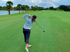 Rediscovering Her Passion for Golf
