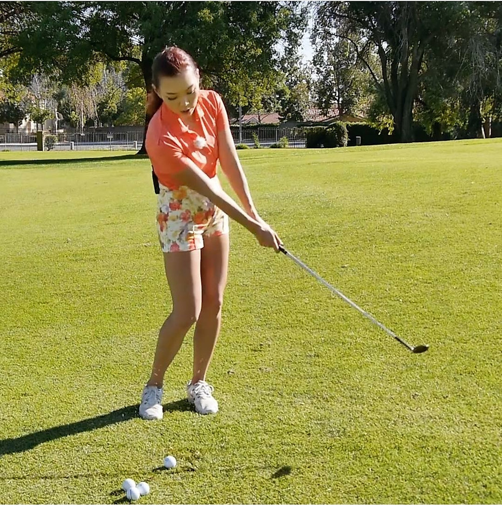 aimee cho, lpg, golf lessons, chip shots, pitch shots, mpswing.com, golfwithaimee, youtube