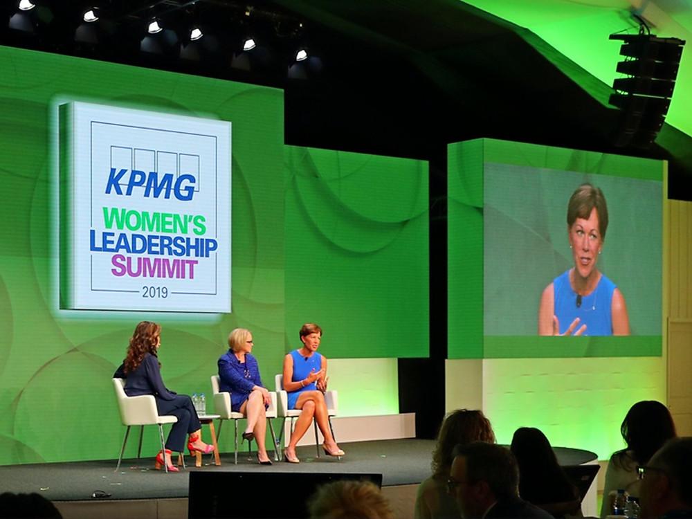 Suzy Whaley, PGA of America, conference, women's leadership summit,  KPMG, GOLF, PGA