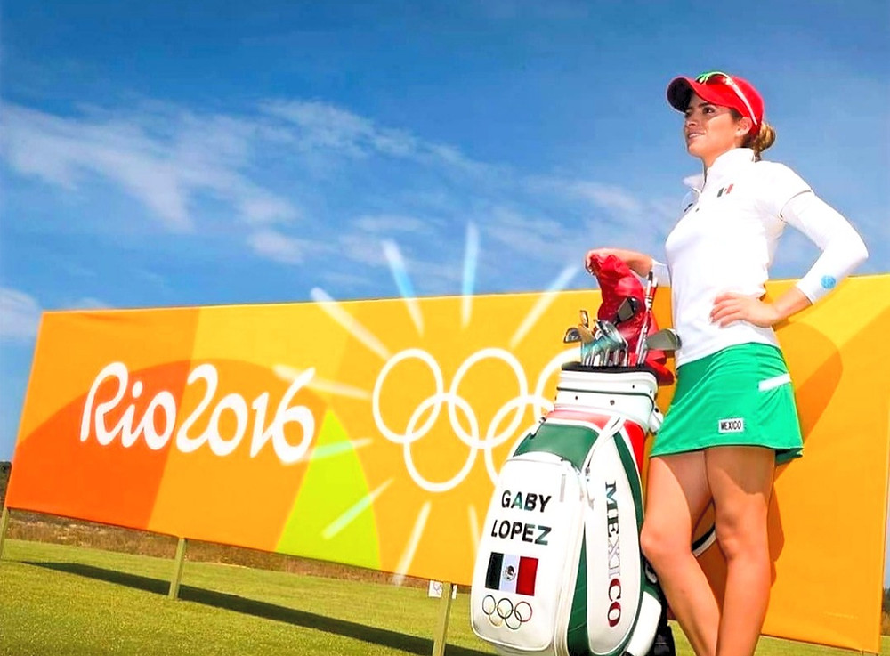 Golf, Olympics, Gaby Lopez, Rio 2016, Mexico, LPGA,