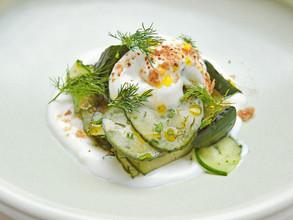 Off The Menu - Chef Frayne's Grilled Summer Cucumber Salad