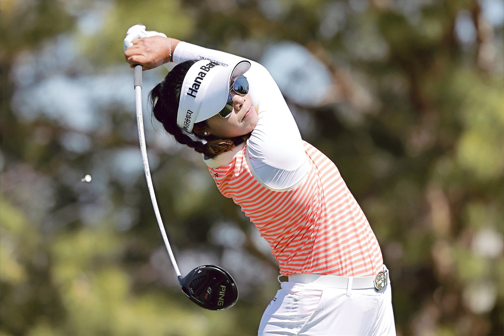 Booming tee shots are becoming the norm with the younger generation of LPGA players