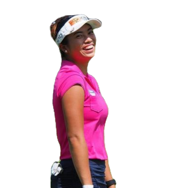Bianca Pagdanganan, golf, golfing, putting, practice, Philippines, Sky Flakes,