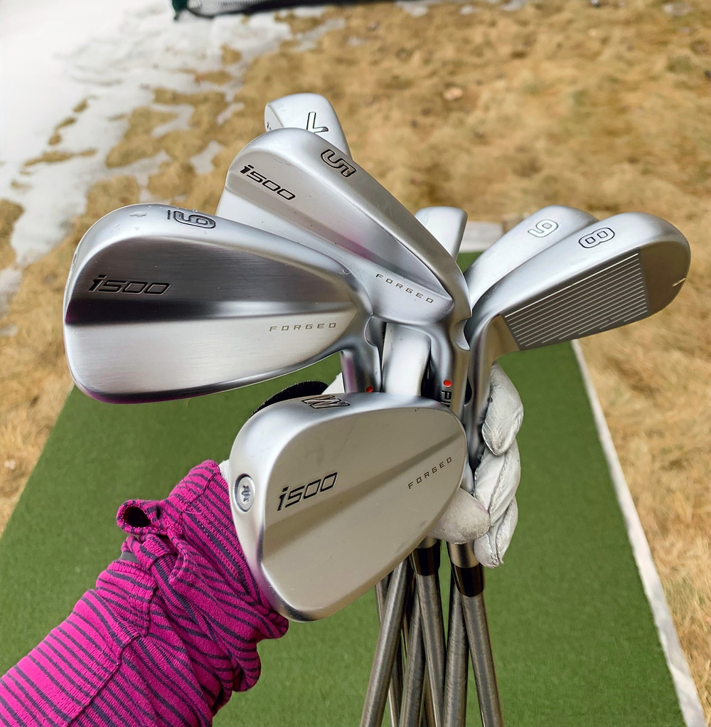 PING, i500, golf clubs, irons, forged steel, Jaclyn Lee, WITB, what is in the bag,