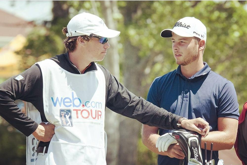 caddie, player, golfer, PGA Tour, professional golf,