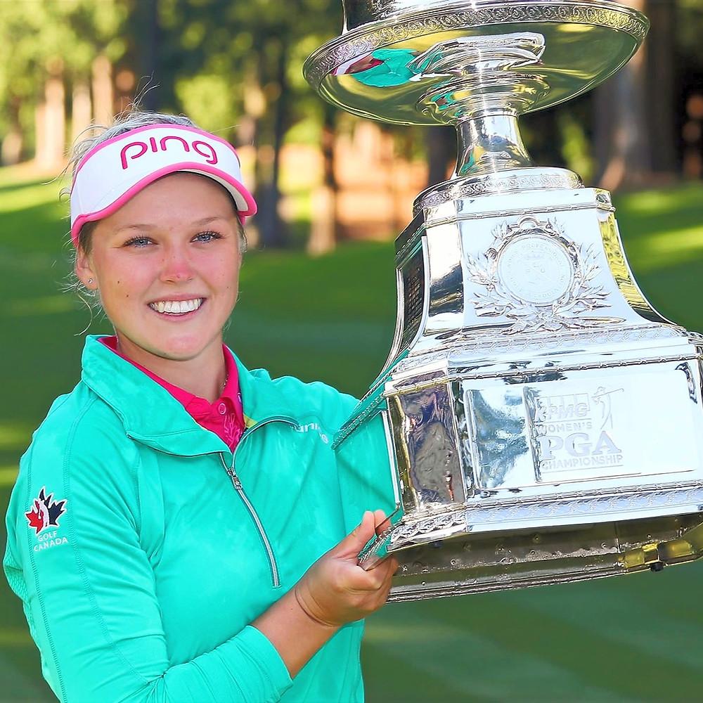 Brooke Henderson, KPMG, PGA, Sahalee, Golf Canada