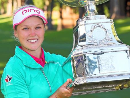 AIG Women's British Open – Brooke Henderson Plotting a New Strategy