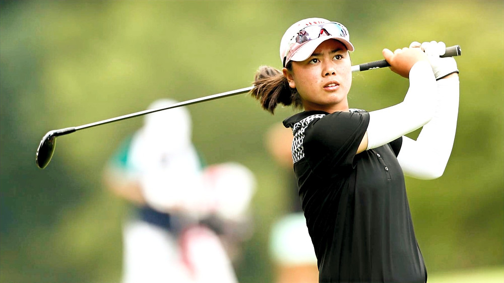 Hitting a long ball has put Yuka Saso near the top of the leaderboard after Round One at the ANA Inspiration