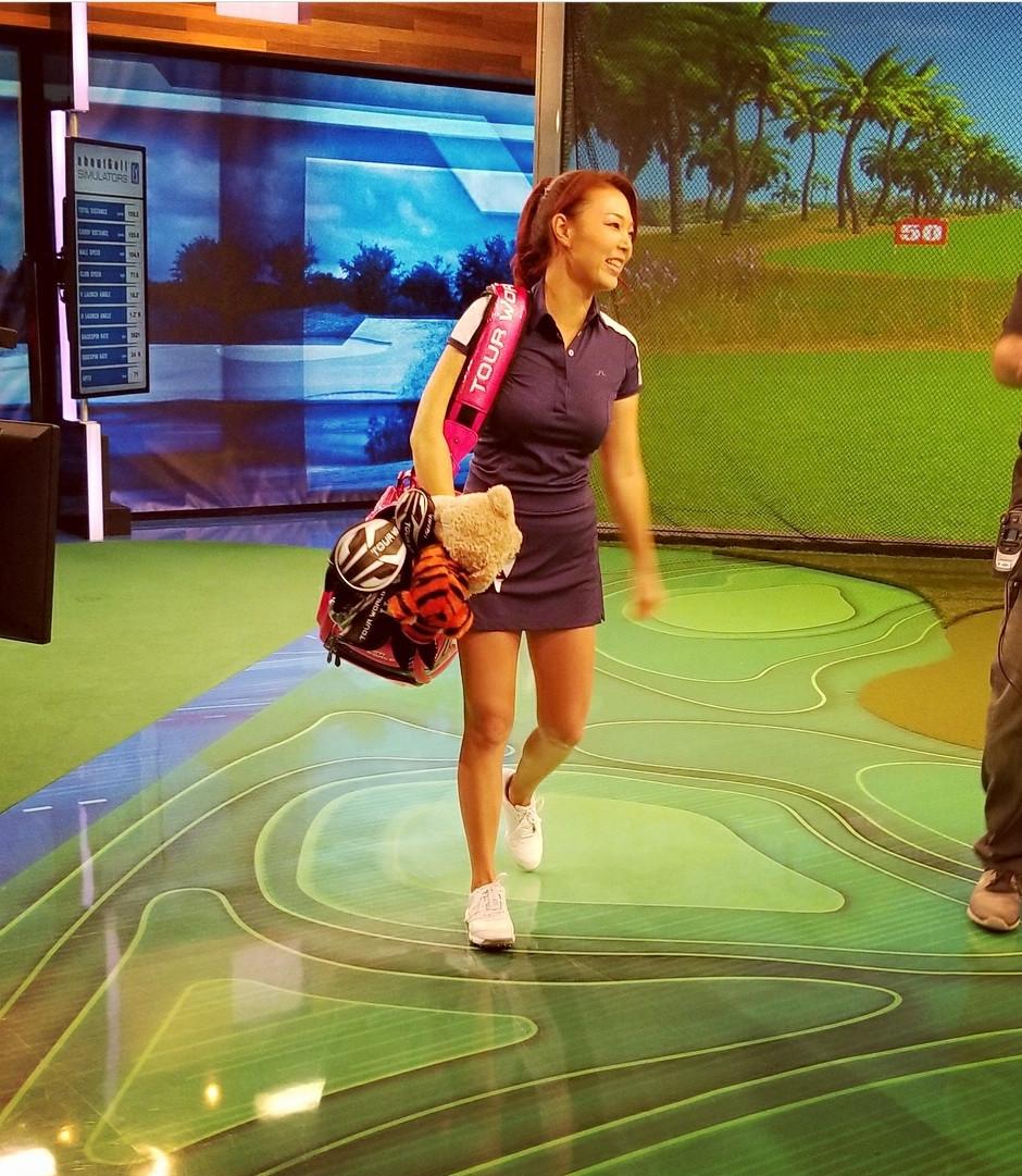 aimee cho, golf teacher, golf lessons, tv show, morning drive,
