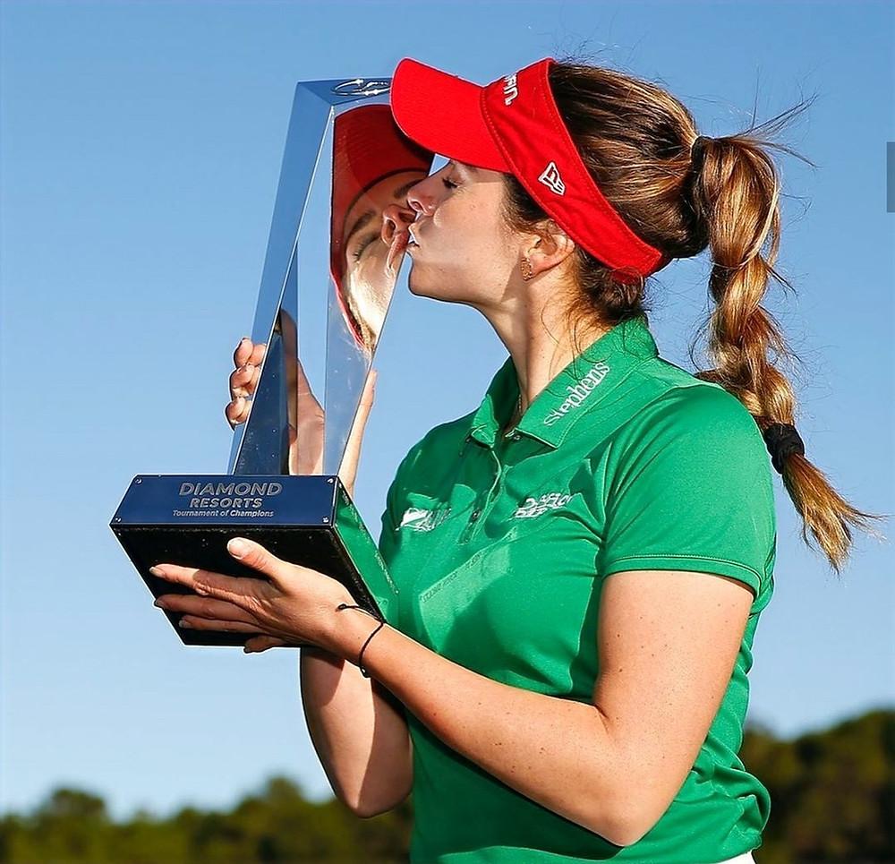 Diamond Resorts, LPGA, Golf, Gaby Lopez, Champion, golfer, athlete, olympian