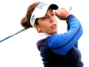 Georgia Hall Claims a Share of the Lead at the AIG Women's Open
