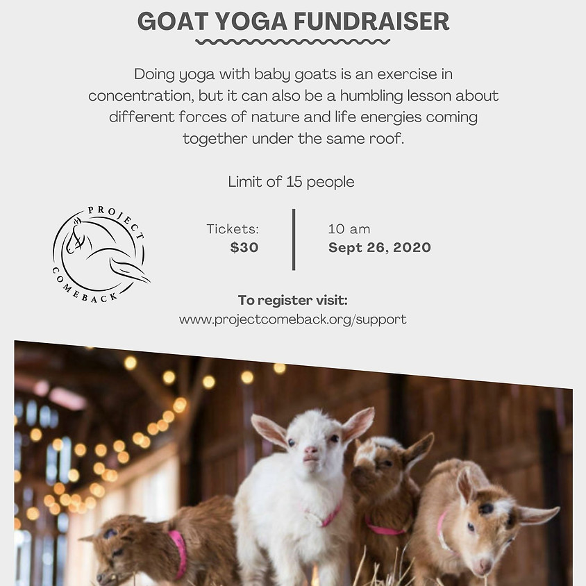 Goat Yoga SOLD OUT