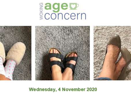 Walking for Woking Age Concern - Wednesday 4th November