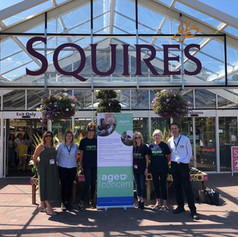 Woking Age Concern becomes Squire's Charity of the Year 2019-2020
