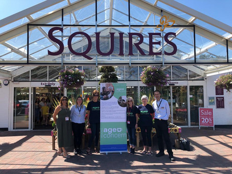 WOKING AGE CONCERN IS SQUIRE'S CHARITY OF THE YEAR!