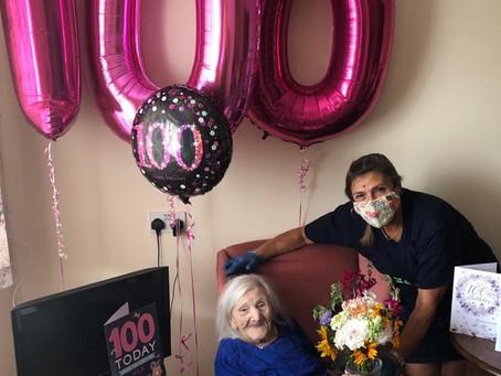 Woking Age Concern's Centenarian!