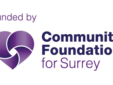THANK YOU, COMMUNITY FOUNDATION FOR SURREY